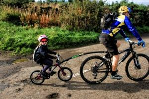 Still pedalling